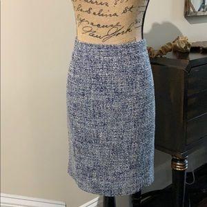 J Crew tweed skirt